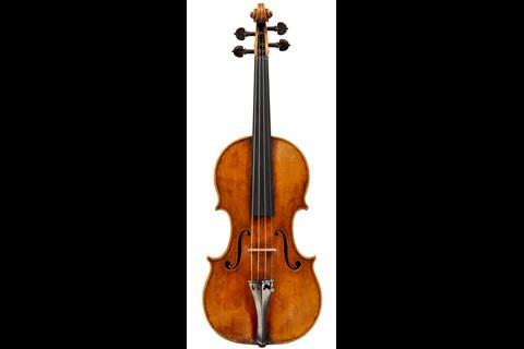 Serafin violin top 1